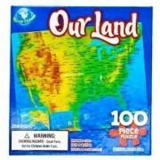 Our Land (Usa Map) 100 Piece Puzzle
