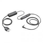 Plantronics - Adaptateur pour crochet commutateur électronique - pour Apple iPhone 4, 4S, 5, 5s, 6; CS 510, 510-XD, 520, 520-XD, 530, 540, 540-XD, 545-XD