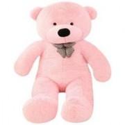 Omex 5 Feet BIG Stuffed Spongy Teddy Bear Cuddles Soft Toy For Girls 152 Cm - Pink