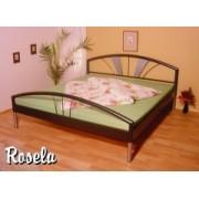 RO-07 SELA kovová postel včetně matrace a roštu