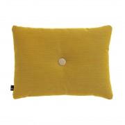 HAY Dot Kussen 1 Knoop Steelcut Trio Cushion Yellow