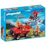 Playmobil city action super set pompieri forestali 9518
