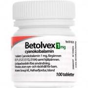 Betolvex, filmdragerad tablett 1 mg 100 st