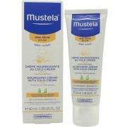 Mustela ébé-enfant nourishing crema viso with cold cream 40ml - pelle secca