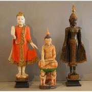 Buddha Standing Orange Thailand