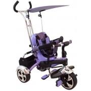 Tricicleta multifunctionala Happy Days - mov