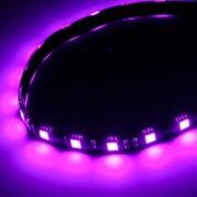 Banda LED BitFenix Alchemy 2.0 Magnetic 30x Purple LED 60cm