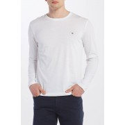 Gant Tričko Gant The Original Slim Ls T-Shirt bílá 4XL