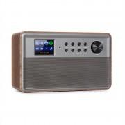 "Auna Connect Link, интелигентно радио, IR / DAB + / FM, Spotify, BT, 2.4"" HCC дисплей, дърво (KC3_Connect Link WD)"