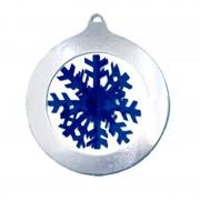 Merkloos Sneeuwvlok decoratie 37 cm
