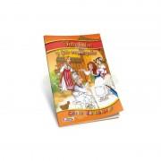 CARTE DE COLORAT 17 X 24 CM CU POVESTI - FATA BABEI SI FATA MOSULUI - CC-A5-13