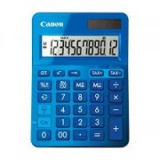 Canon LS-123MBL 12-Digit Desktop Calculator - Mettalic Blue