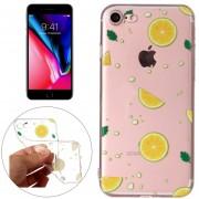 Para IPhone 8 Y 7 Navel Orange Patron Relieve Volver Funda