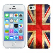 Husa iPhone 4S Silicon Gel Tpu Model UK Flag