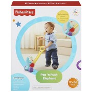 Fisher-Price Pop and Push Elephant