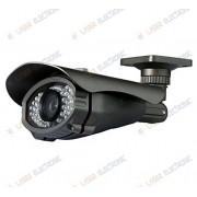 Telecamera CCD 1-3 Sony 600TVL Linee da Esterno IP67 visione notturna 15mt