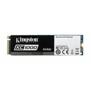 SSD M.2 PCIe 3.0 x4 480GB Kingston KC1000 NVMe 2700/1600MB/s, SKC1000/480G