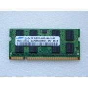 MEMOIRE PC PORTABLE SAMSUNG DDR2 / 2GB 2Rx8 PC2-6400S-666-12 -E3/ M470T5663EH3-CF7