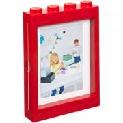 ROOM LEGO fotorámeček červená