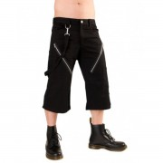 rövidnadrág 3/4 férfi Black Pistol - Zip Short Pants Denim Black - B-1-45-101-00