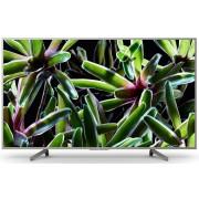 "Televizor LED Sony BRAVIA KD55XG7077, 139 cm (55""), Ultra HD 4K, Smart TV, X-Reality™ PRO 4K, Dolby™ Audio, Linux, Wi-Fi, Clasa energetica A, Argintiu"