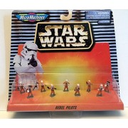 Star Wars: Rebel Pilots (Micro Machines) by Galoob Toys