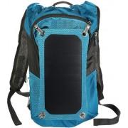 "Rucsac laptop PowerNeed Sunen SBS10, incarcator solar 7W, 15.6"" (Albastru/Negru)"