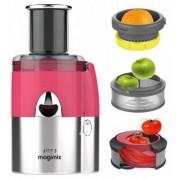 Magimix ESTRATTORE Juice Expert 3 MULTIFUNZIONE Lampone/Cromo