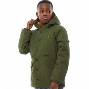 Lyle And Scott Junior Weight MicroWoodland Green