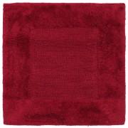 Linnea Tapis de bain 60x60 cm DREAM rouge Bordeaux 2100 g/m2