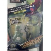 Marvel The Amazing Spider-Man Night Force Concept Series Exclusive 3.75 Inch Action Figure Invisi-Skin Lizard [Glow in t
