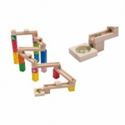 Joueco - Jucarie din lemn Pista cu bile