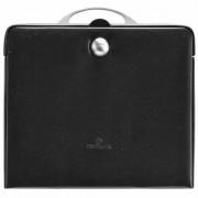 Windrose Merino Charmbox Caja para joyas joyero 25,5 cm negro