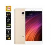 Android Smartphone Xiaomi redmi Remarque 4X - Dual-IMEI, 4G, SnapDragon 625 CPU, RAM 3GB, 2GHz, 5,5 pouces FHD, empreintes digitales (Gold)