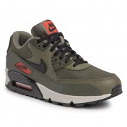 Обувки NIKE - Air Max 90 Essential AJ1285 205 Medium Olive/Black/Team Oragne