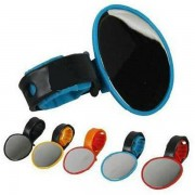 Meco Bike Rear View Flexible Mirror Cycling Handlebar Glass 5 color
