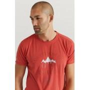 Áhkká Trekking-t-shirt med kort ärm Röd