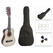 Star Kids Acoustic Toy Guitar 27 Inches Natural with Bag Strings & Picks CG621-BSP-NT