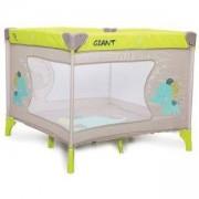 Детска квадратна кошара за игра Moni Giant, жълта, сьомга, 356180