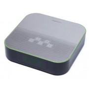 Radio cu ceas Horizon HAV-P4180, 6 W, Bluetooth, USB, Aux (Negru/Argintiu)