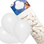 Baloane albe set 100, Herlitz
