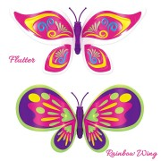 Set 2 bucati Fluturasul magic – Bright Wing si Flutter
