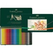 Creioane colorate Acuarela Albrecht Durer Magnus, cutie metal, 24 culori/set Faber-Castell