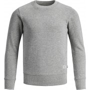 PRODUKT Tröja, Light Grey Melange 122/128