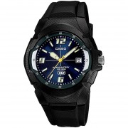 Reloj CASIO MW-600F-2AVCF 10 Year Battery Collection Análogo Con Calendario-Negro