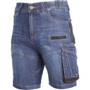 """albastru denim pantaloni scurți scurt întinde cu armare """"2XL"""" (L4070705)"""