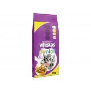 Суха храна за котета Whiskas Junior с пилешко месо 14 кг