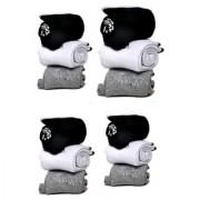 Manan fashion Unisex Ankle towel Socks - Pack of 12