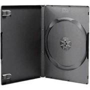 DVD-BOX 14 mm Единична черна за DVD