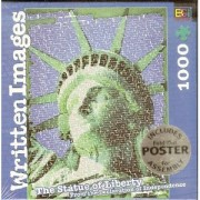 """Written Images Puzzle ~ """"The Statue of Liberty"""" 1000 Pc"""